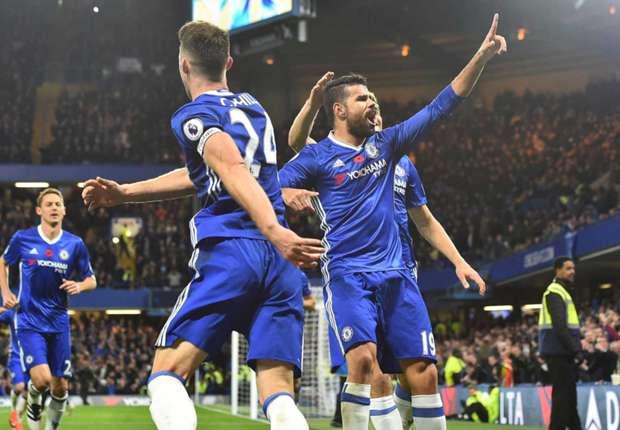 Image result for Chelsea 5-0 Everton: Eden Hazard master-class fires Blues top of the Premier League