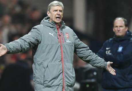 Wenger explicó el enfado de Alexis