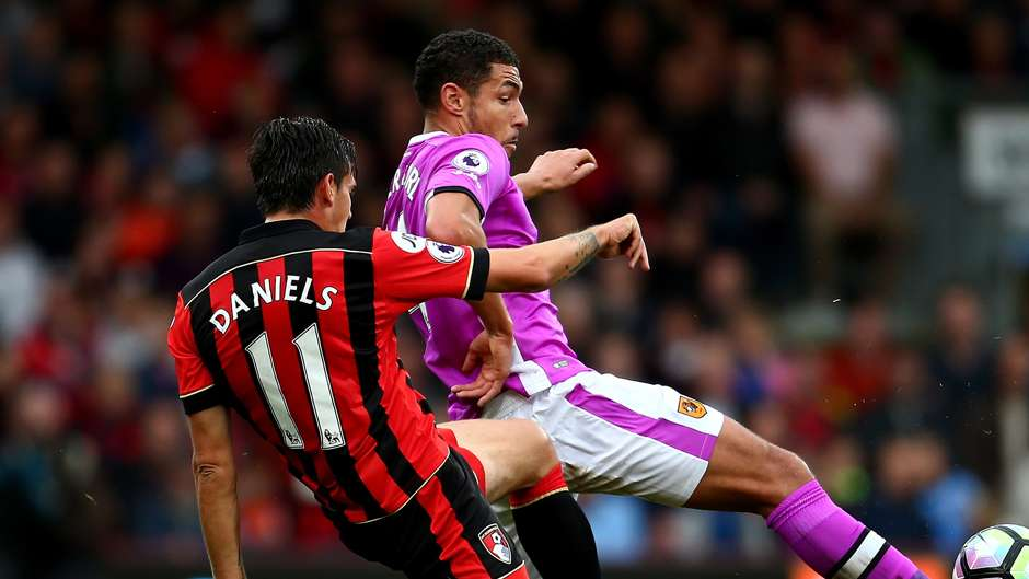 Charlie Daniels Jake Livermore Bournemouth Hull Premier League 151016