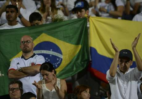 Brazil-Colombia friendly proposed