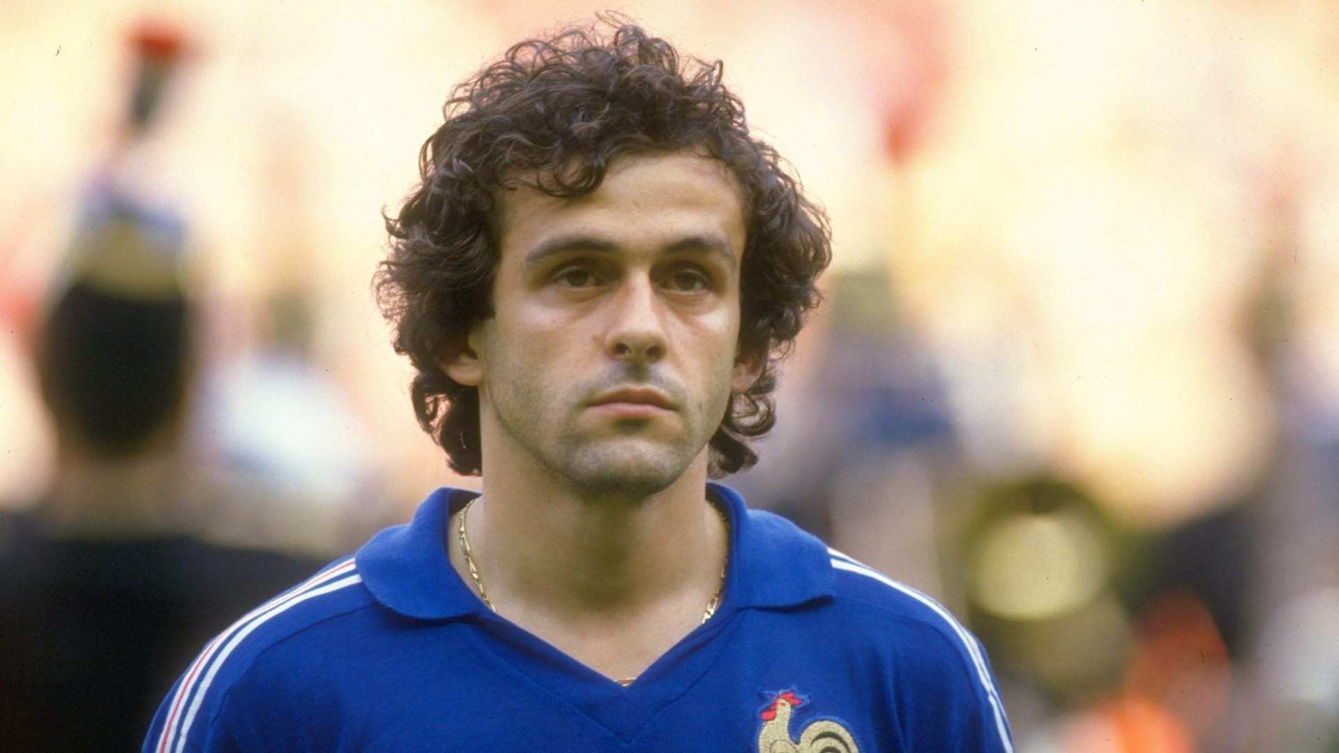 Michel Platini at Euro 1984 Goal