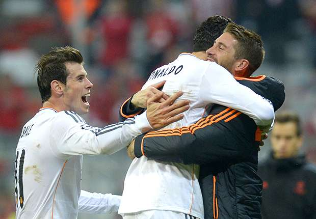 Double trouble as Ramos, Ronaldo run riot — Champions League in pics