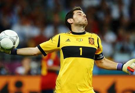 El XI ideal de España en la Euro