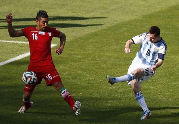 Lionel Messi traf gegen den Iran in der Nachspielzeit