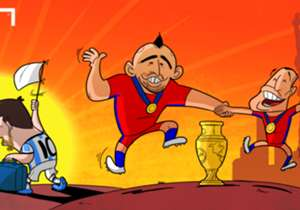 Lionel Messi's missed penalty helped Chile win the Copa America in a shootout, with the Barcelona star set to retire from international football having lost three major finals in as many years...