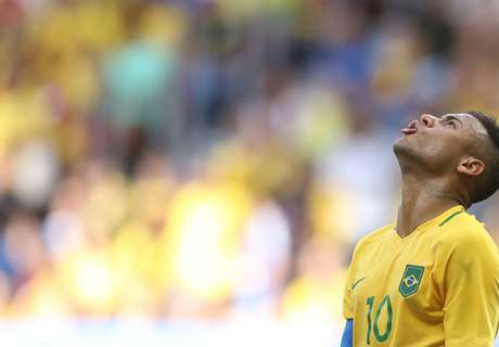 Neymar's Brazil draw again in Rio