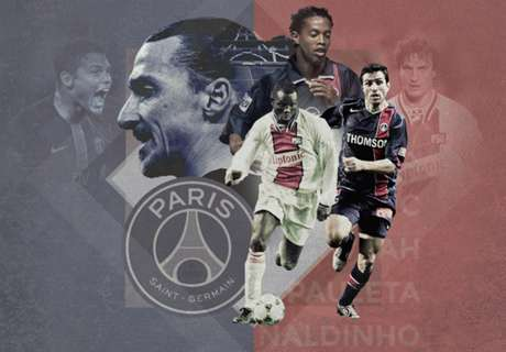 Top 20 PSG players of all time