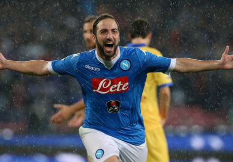 Napoli reject Atletico's Higuain bid