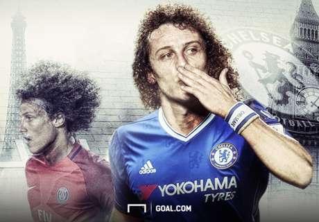 David Luiz-Chelsea e i ritorni