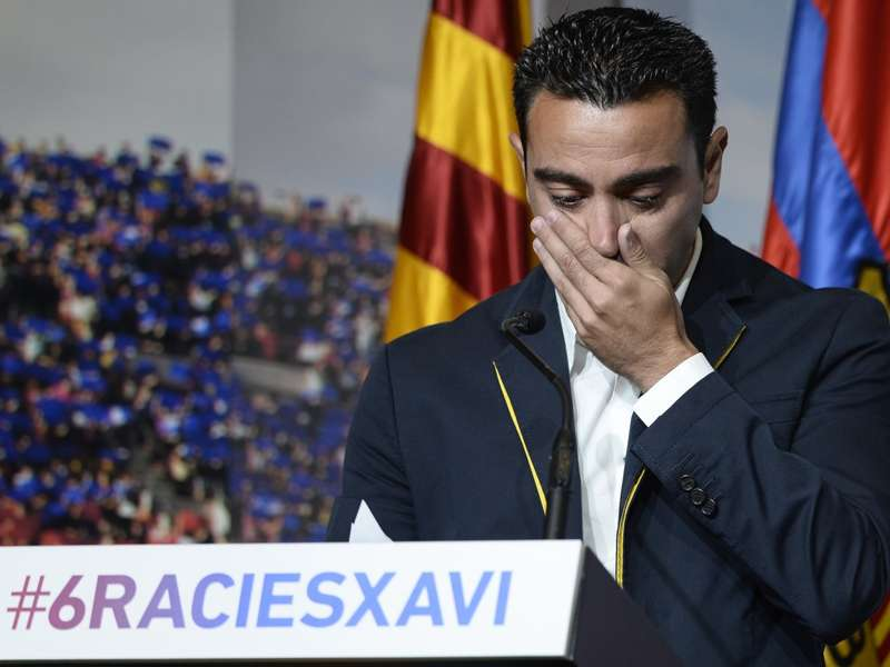 Xavi's goodbye to Barcelona: The full statement