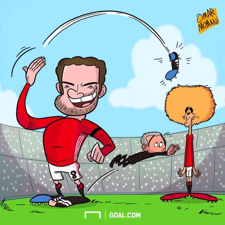 Juan Mata Boot Cartoon