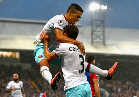 Lanzini gives Hammers overdue win