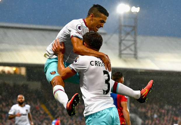 Crystal Palace 0-1 West Ham: Lanzini gets Hammers back to winning ways