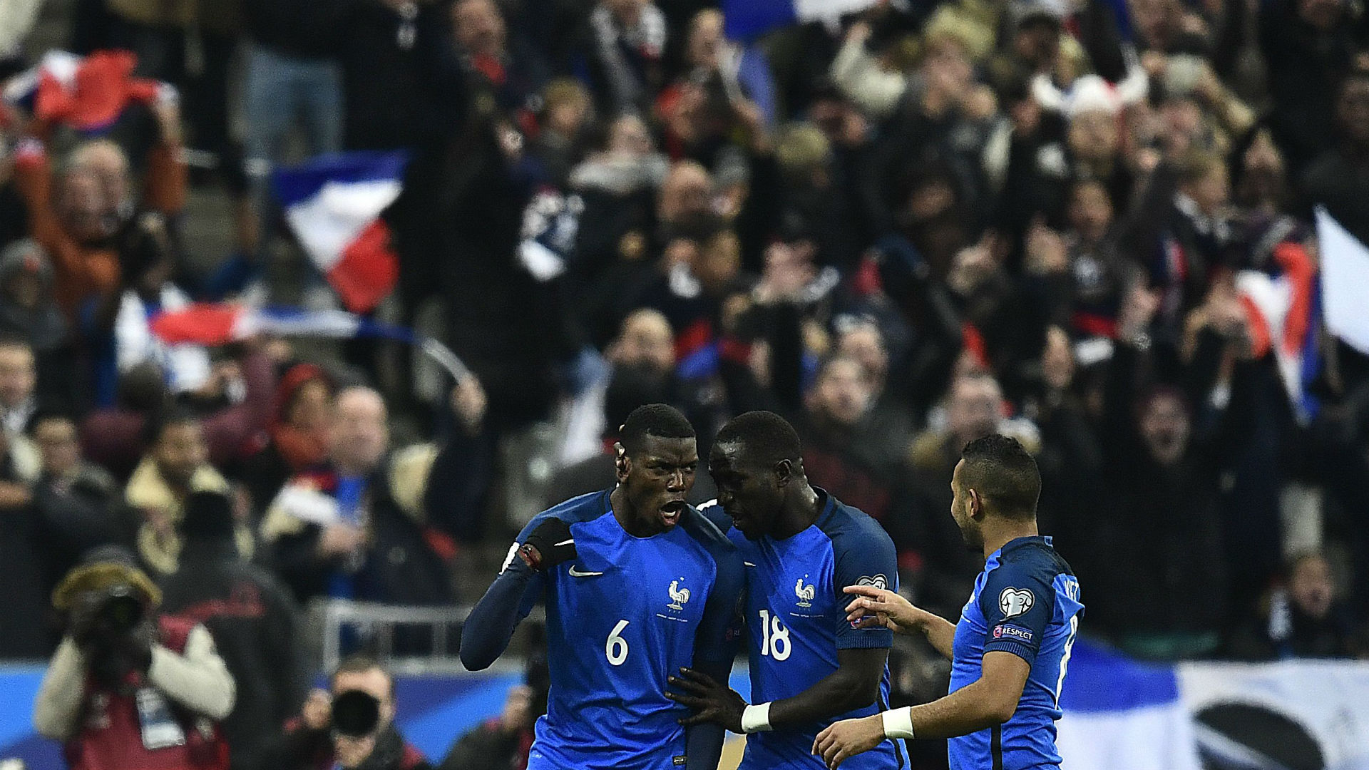 France 2-1 Sweden: Pogba and Payet inspire Les Bleus comeback