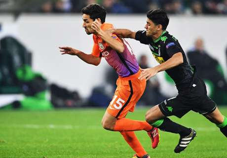 City frustrated by Gladbach