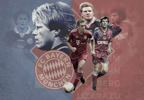 Top 20 Bayern players of all time