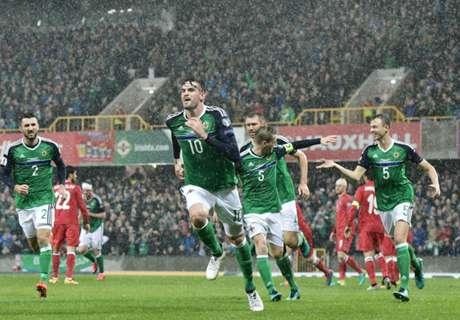 N. Ireland cruise to win over Azerbaijan