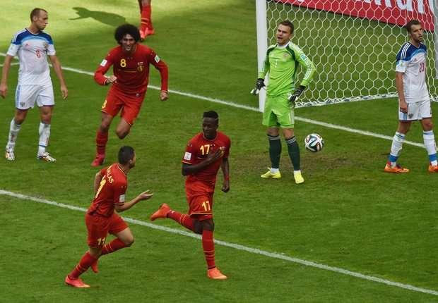 Gol tunggal Divock Origi pastikan langkah Belgia ke 16 besar.