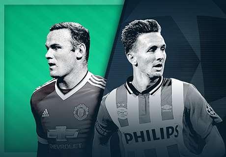 LIVE! Manchester United - PSV