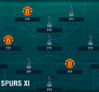 Man Utd and Spurs combined XI