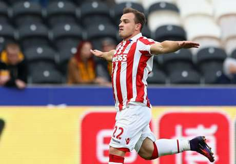Shaqiri double downs Hull