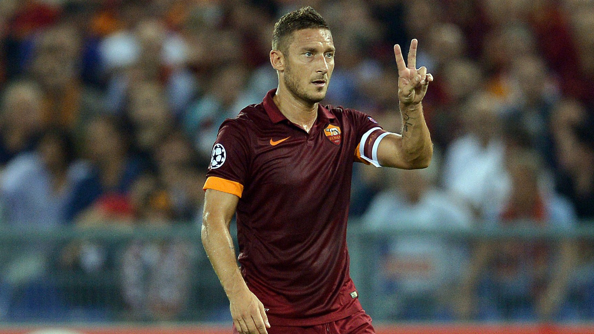 Francesco Totti Champions League Goal