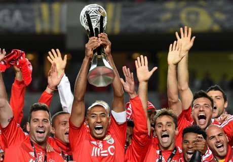 VIDEO: Benfica clinch Taca da Liga final