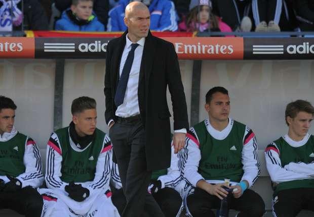 I'd say yes to Madrid job - Zidane