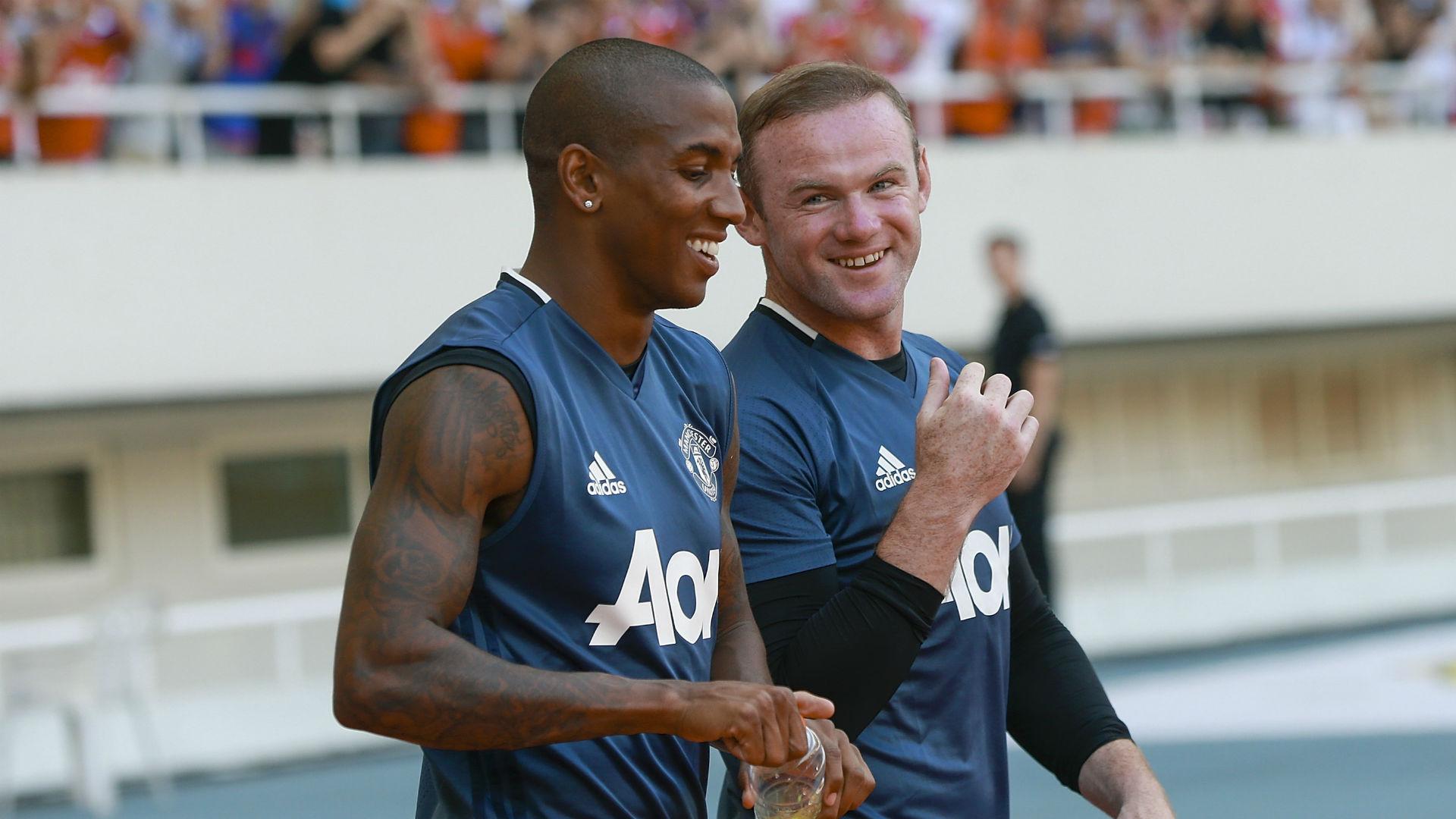 Wayne Rooney & Ashley Young Manchester United