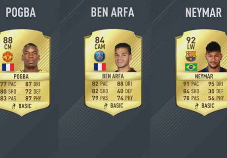 All of FIFA 17's 5-star skill players