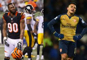 <strong>CINCINNATI BENGALS / ARSENAL |</strong> Always the bridesmaids but never the brides, they've failed to win the top prize in the game. Despite always reaching the knockout stage, they nearly always bottle it in the very first round.