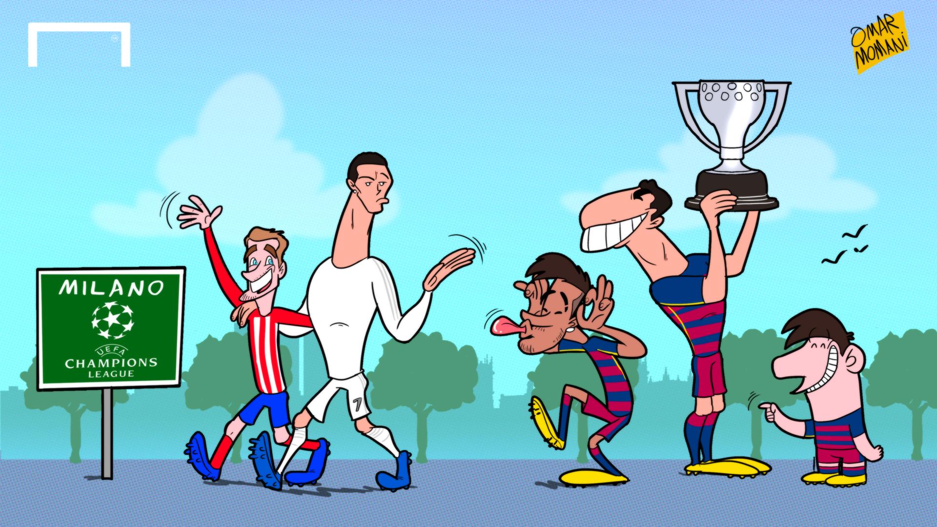 La Liga: Barcelona Win La Liga