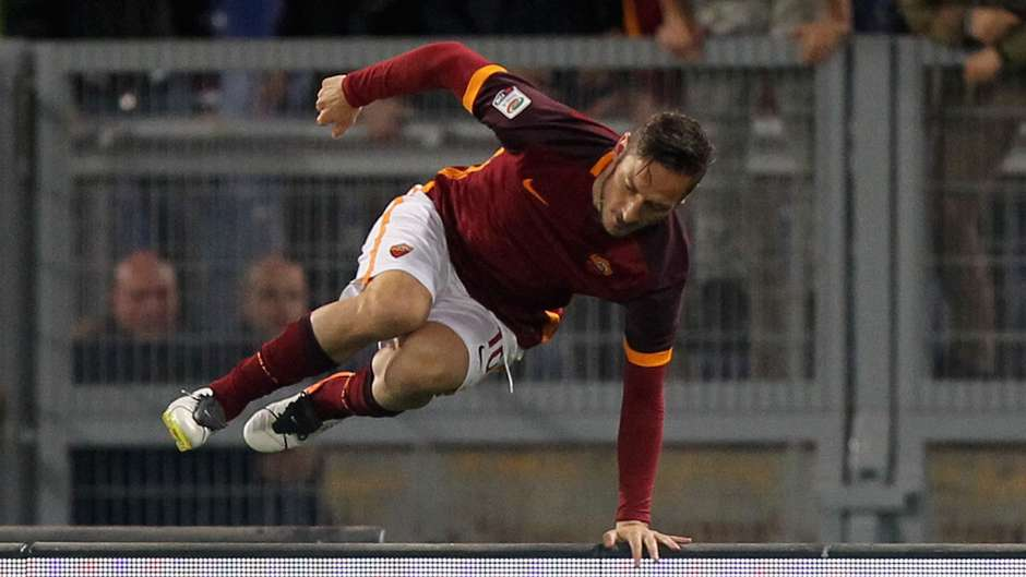 Francesco Totti Roma Genoa