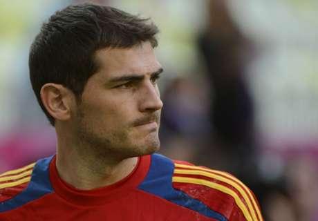 No Casillas or Fabregas for Spain