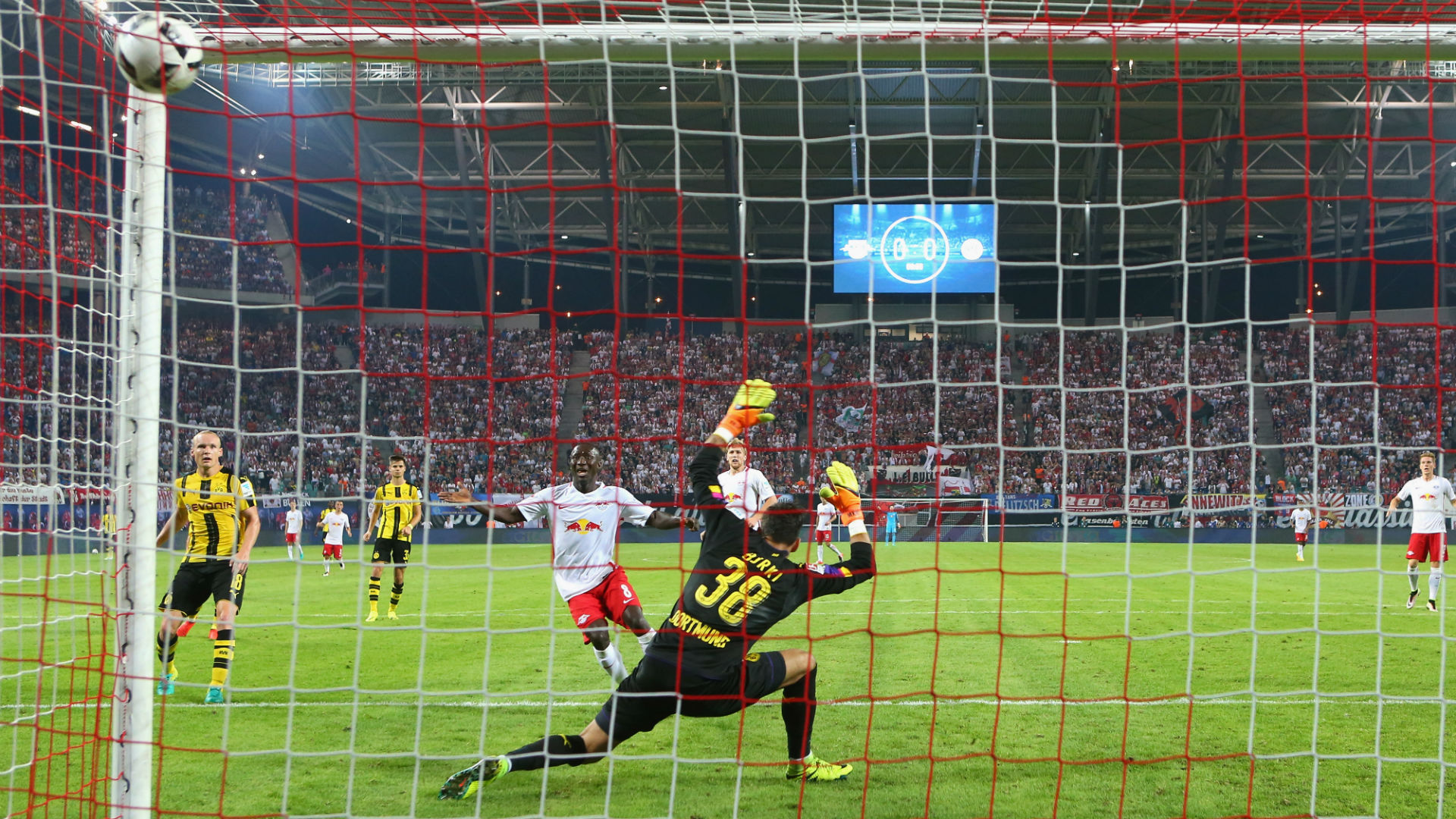 Image result for leipzig vs dortmund 2016