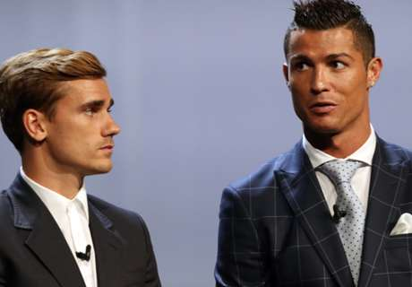 Ronaldo: Griezmann says he hates me!