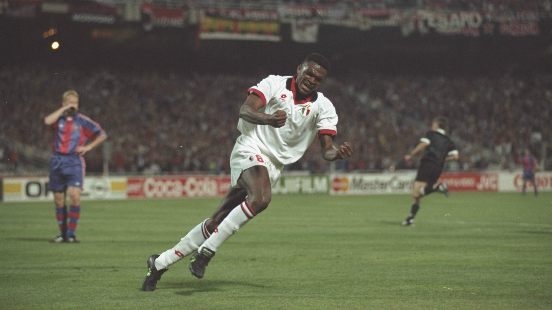 Marcel Desailly Milan Barcelona Champions League Goal