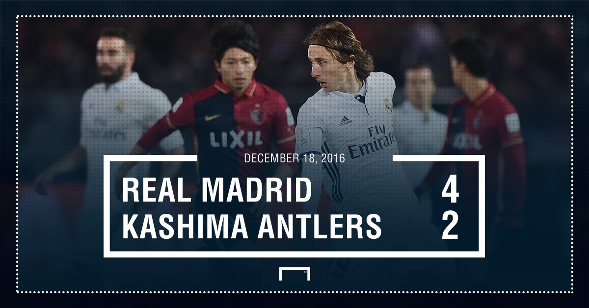 This Third Final Seemed As If It Would Be A More Straightforward Affair Madrid Were Big Favourites To Beat Japanese Side Kashima Anflers And When Karim
