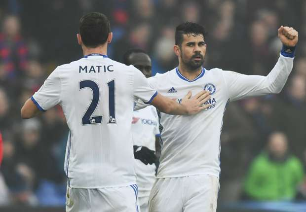 Crystal Palace 0-1 Chelsea: Costa header seals 11th straight league win for Conte's men