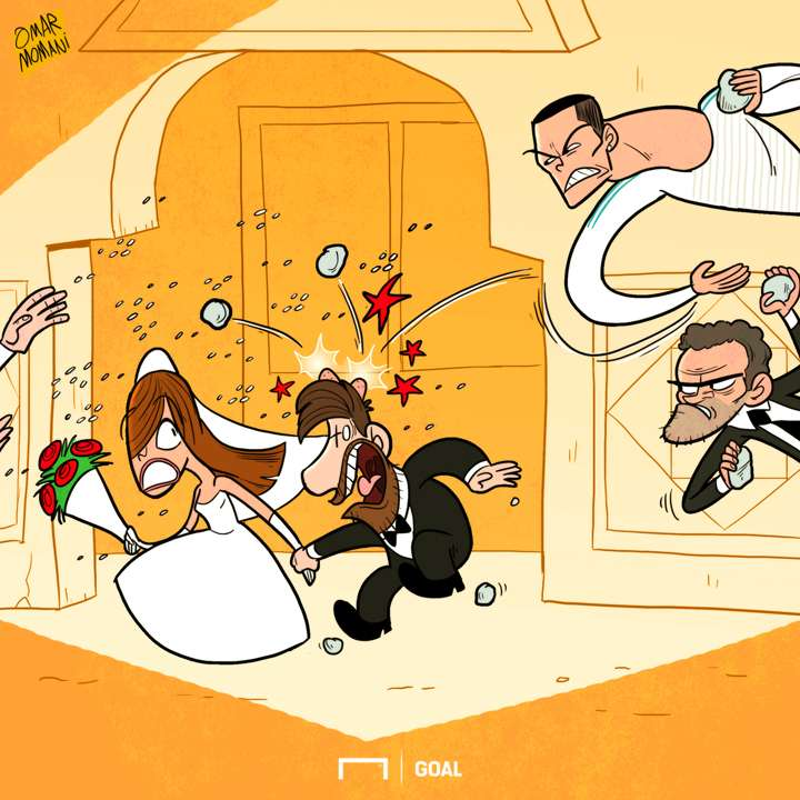 Messi's wedding