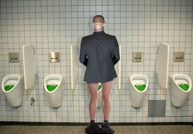 Which Premier League manager 'pisses like a three-year-old' with his pants round his ankles?