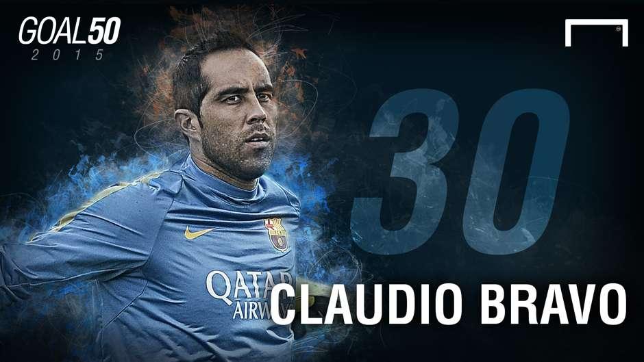 30 Claudio Bravo G50