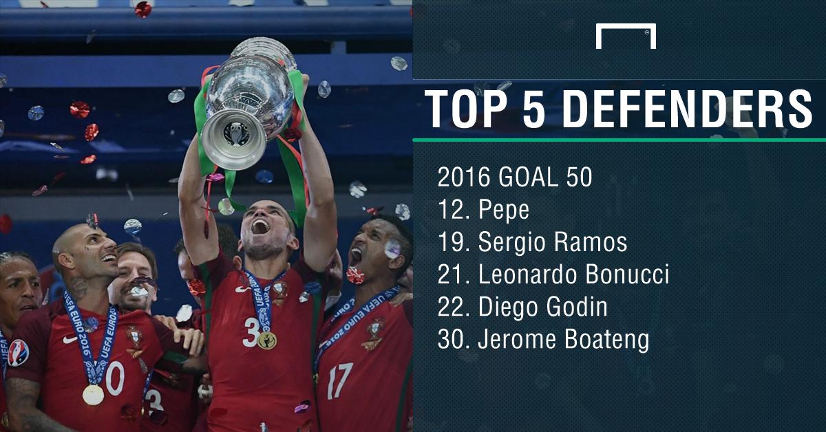 <h3>په په، بهترین مدافع جهان در سال 2016 از نگاه goal</h3>