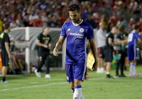 Fabregas apologises to Klavan