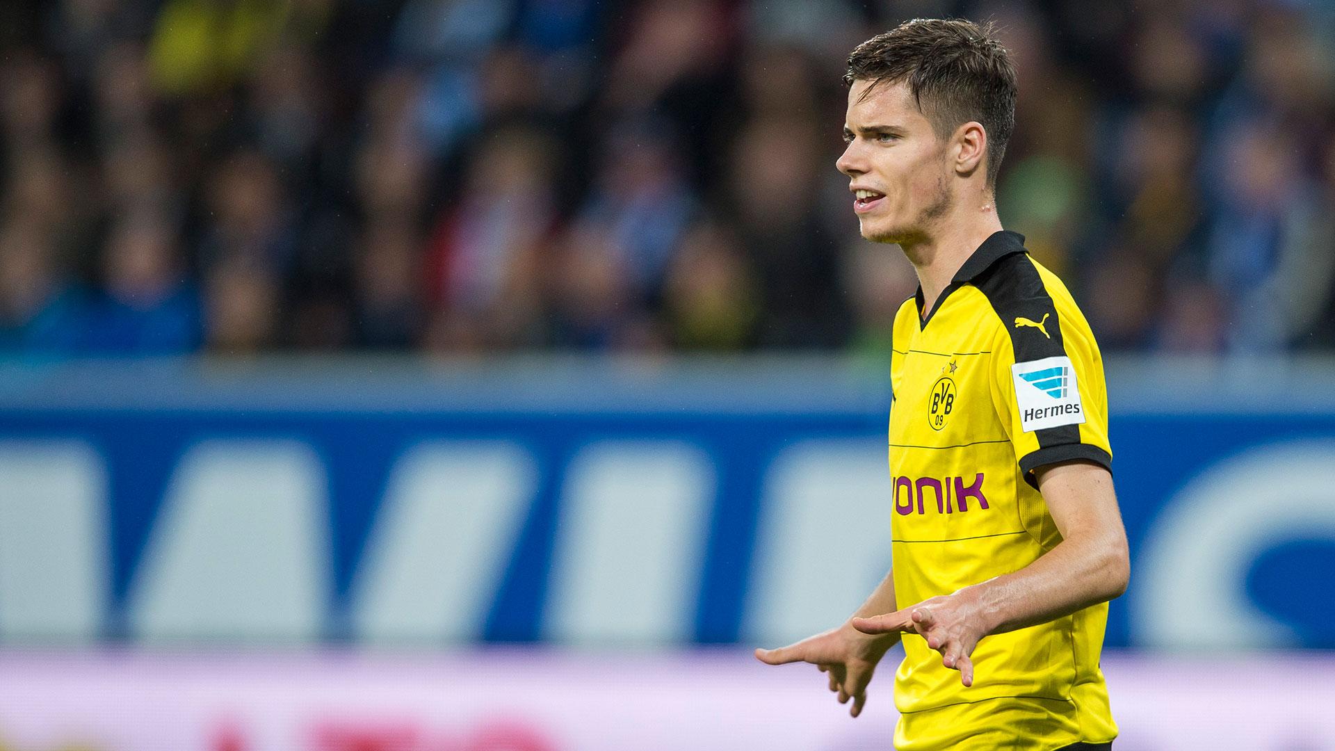 Julian Weigl Borussia Dortmund Goal