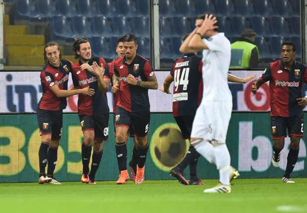 Genoa 3-0 Milan: Ivan Juric's side end 10-man Rossoneri's unbeaten run
