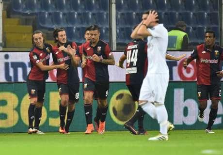 Genoa end Milan's unbeaten run