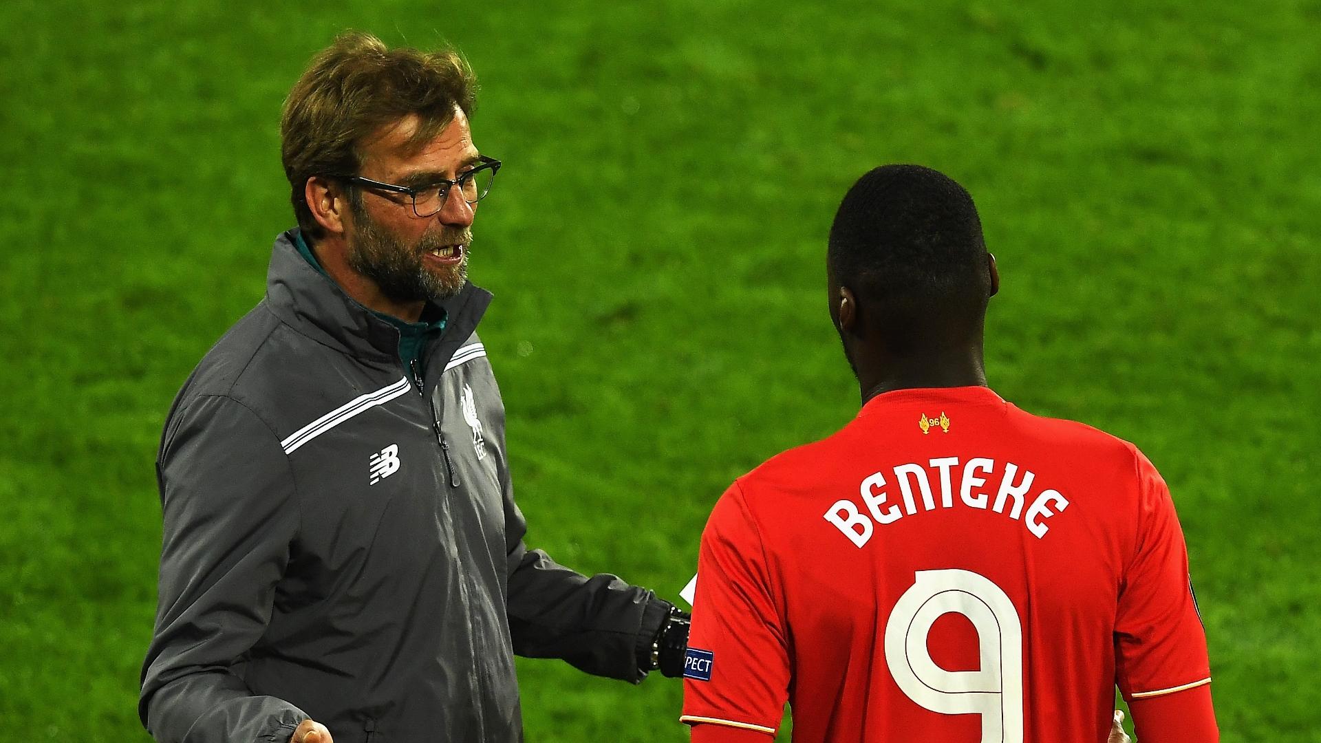 Liverpool Benteke sold for breaking Klopp s glasses