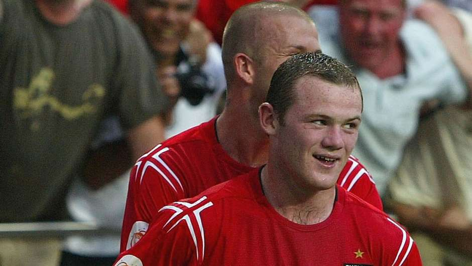Wayne Rooney 2004 Wayne Rooney at Euro