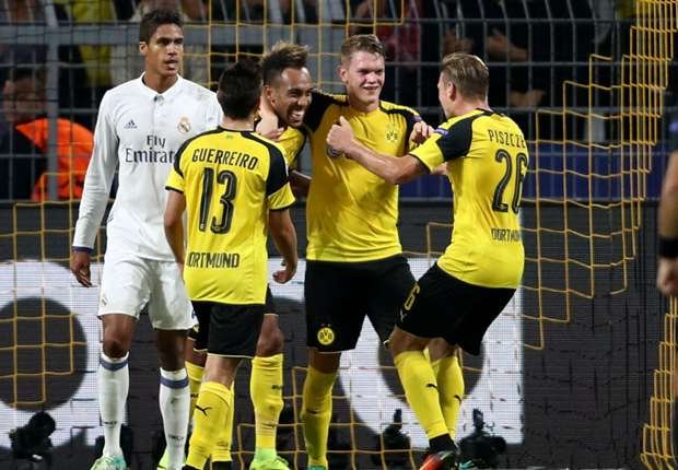 Borussia Dortmund 2-2 Real Madrid: Late Schurrle strike denies Zidane's men